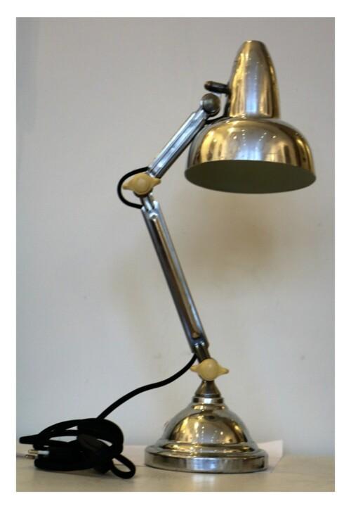 """Lampe de bureau """"Super Chrome"""" articulée, vers 1930-1940"""