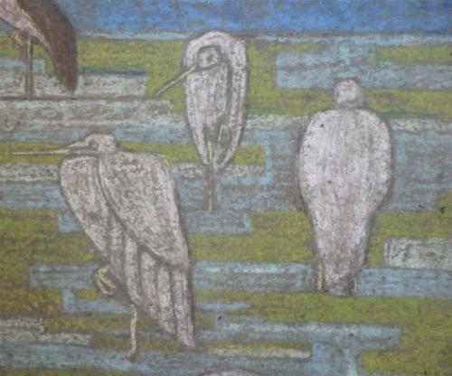 Projet de papier peint — Canards